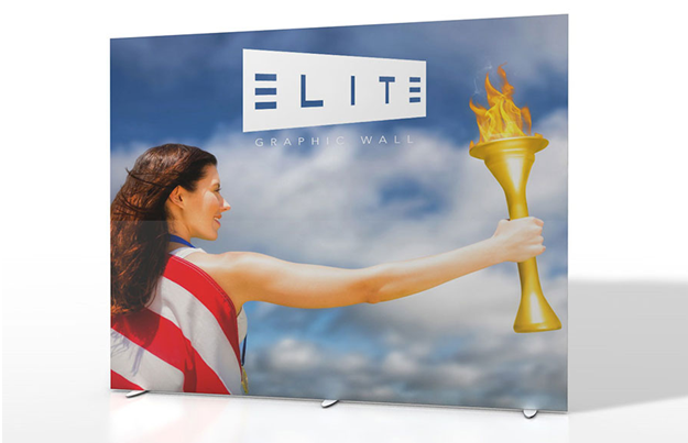 Elite Graphic Wall Printed Fabric Display