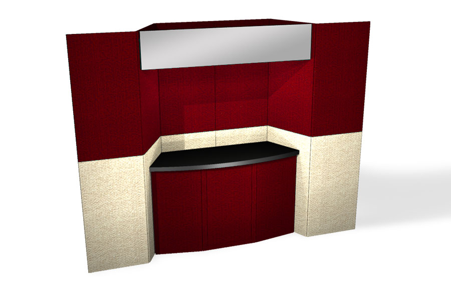 trade show booth for rent