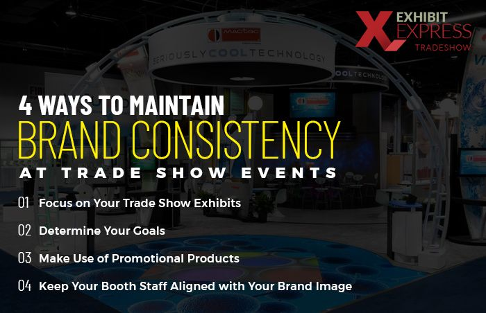4 Ways to Maintain Brand Consistency at Trade Show Events1