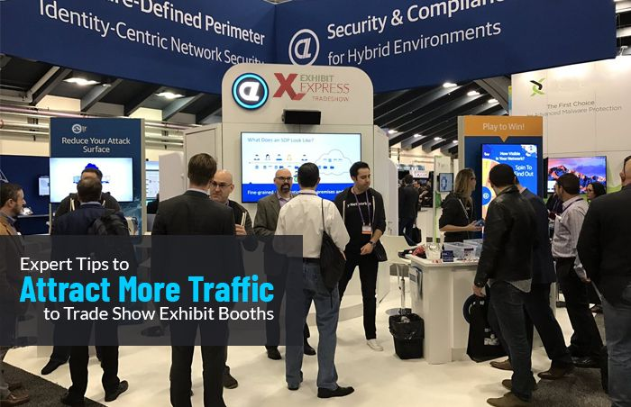 Tips to Attract More Traffic to Trade Show Exhibit Booths